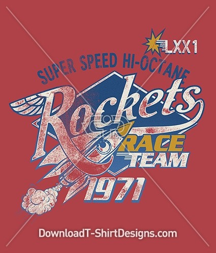 Retro Rockets Super Speed Race Team