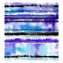 Tie Dye Smudge Blur Stripes Seamless Pattern