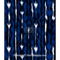 Abstract Blurred Blue Arrow Seamless Pattern