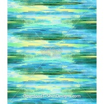 Abstract Watercolor Blurred Stripe Seamless Pattern