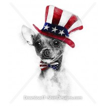 USA Independence Day Chihuahua Dog Hat