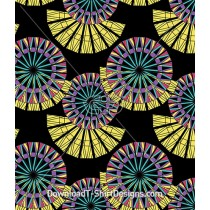 Abstract African Tribal Ethnic Seamless Pattern