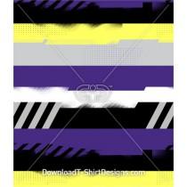 Messy Grunge Stripe Seamless Pattern