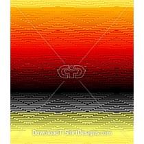 Abstract Zig Zag Gradient Seamless Pattern