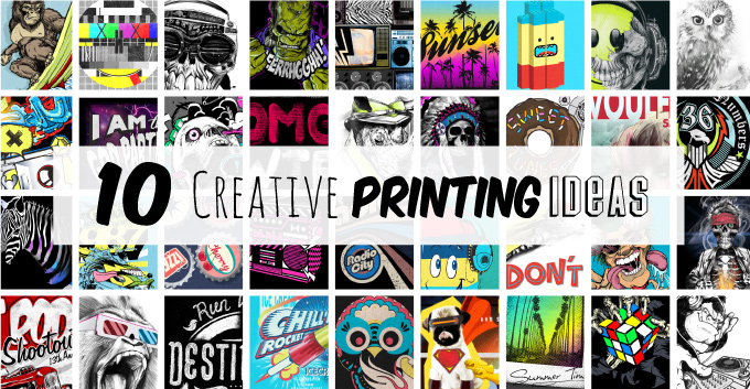 10 Creative Ways to Print your T-Shirts.