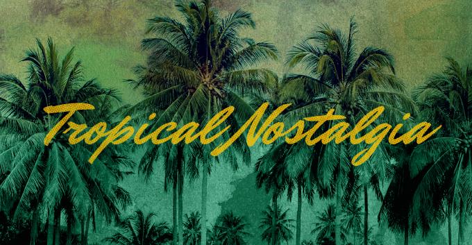 T-Shirt Design Trend - Tropical Nostalgia