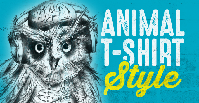 30 Quirky Animal T-Shirt Print Ideas