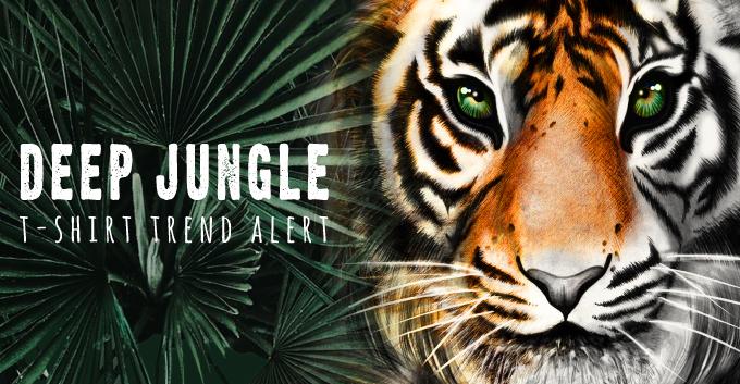 T-Shirt Design Trend - Deep Jungle